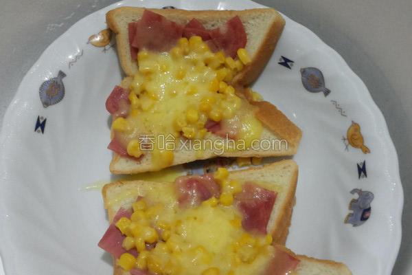 小披萨厚片吐司的做法