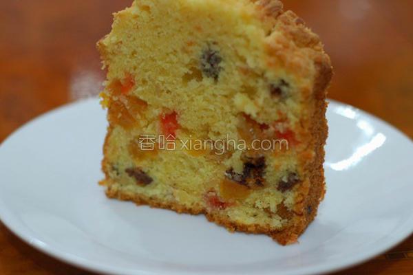 英式奶油蛋糕的做法