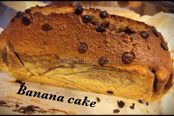 芭娜娜香蕉蛋糕的做法
