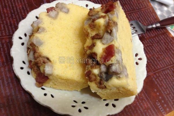 芋香咸蛋糕的做法