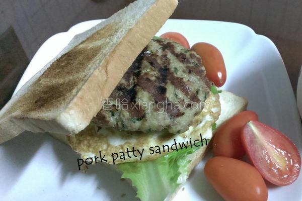 自制猪肉排三明治的做法