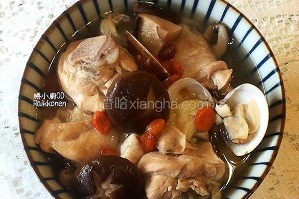 蒜香养生鸡汤