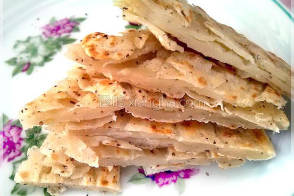 亚麻仁籽抓饼的做法