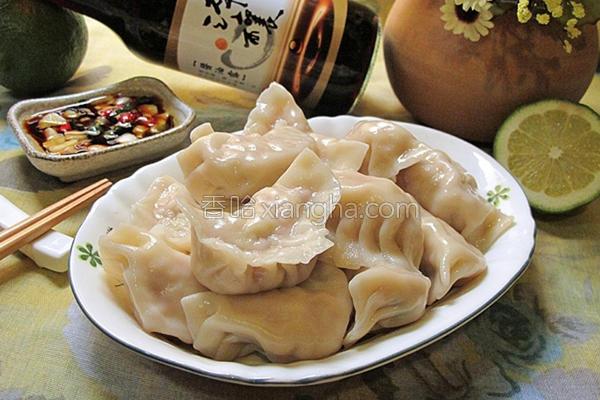 高丽菜水饺的做法
