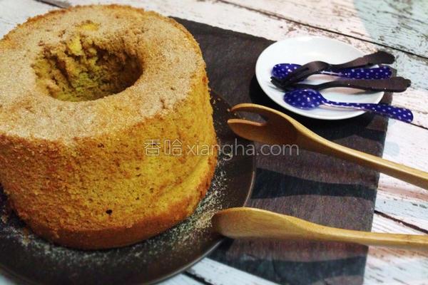 地瓜戚风米蛋糕的做法