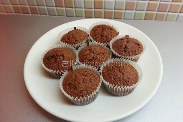 巧克力无油蛋糕的做法