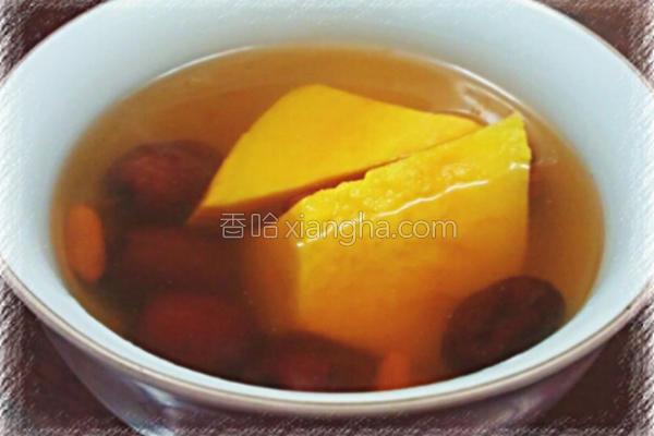 姜汁地瓜汤的做法