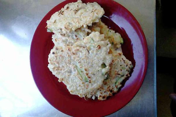 米煎饼的做法