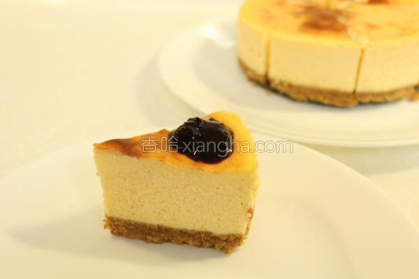 蓝莓乳酪蛋糕的做法
