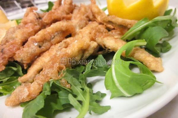 意式酥炸鳀鱼的做法