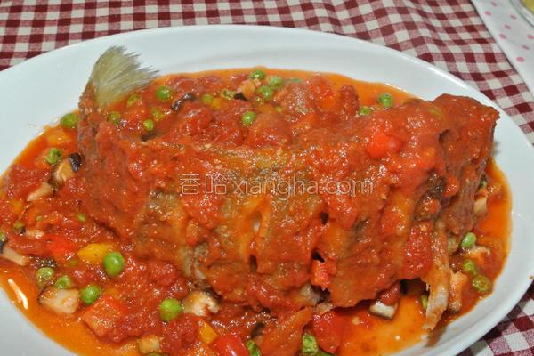 番茄糖醋鱼的做法