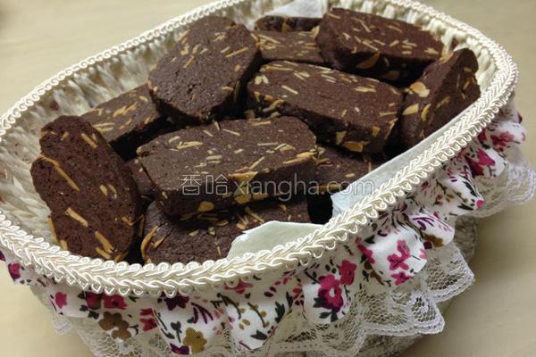 巧克力杏仁饼干的做法