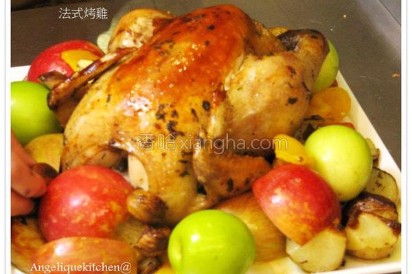 法式原味烤鸡的做法
