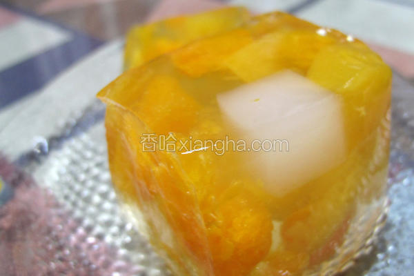 水果魔芋果冻