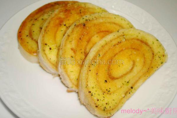 台式大蒜法国面包的做法