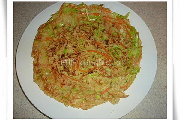 蔬菜煎饼的做法