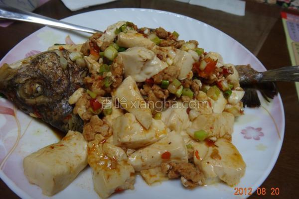 红烧豆腐鱼的做法