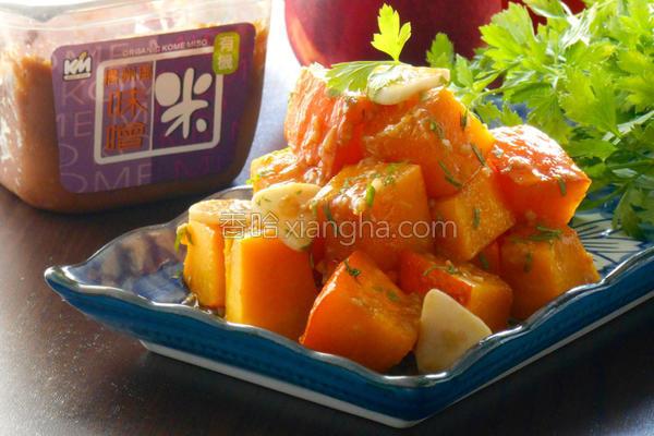 味噌南瓜佃煮的做法
