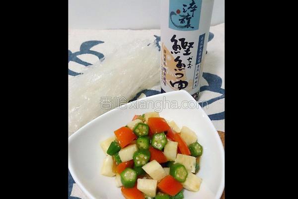 日式凉拌秋葵的做法