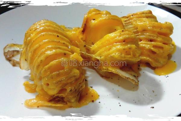 起司风琴马铃薯的做法