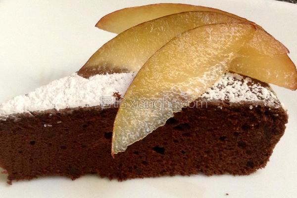 高浓度巧克力蛋糕的做法