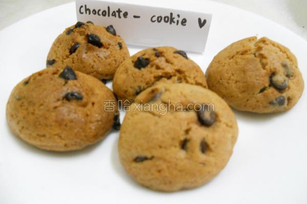 巧克力豆饼干^^的做法