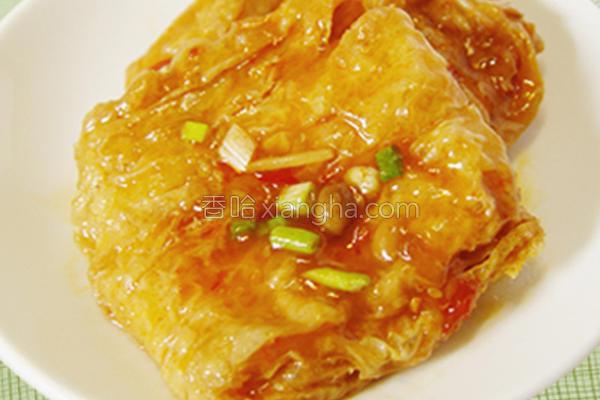 厚生厨房糖醋豆包的做法