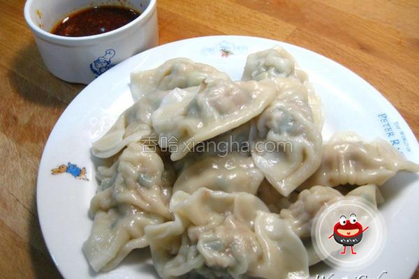 韭菜香菇水饺的做法