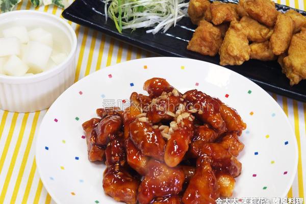 韩式炸鸡块的做法