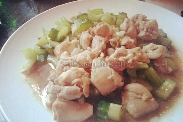 味噌鸡肉炒时蔬的做法