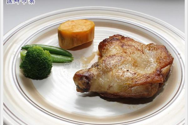 香煎鸡腿排的做法