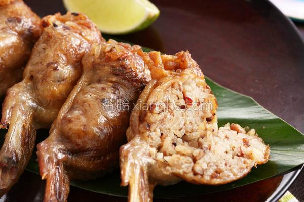 鸡翅包油饭的做法