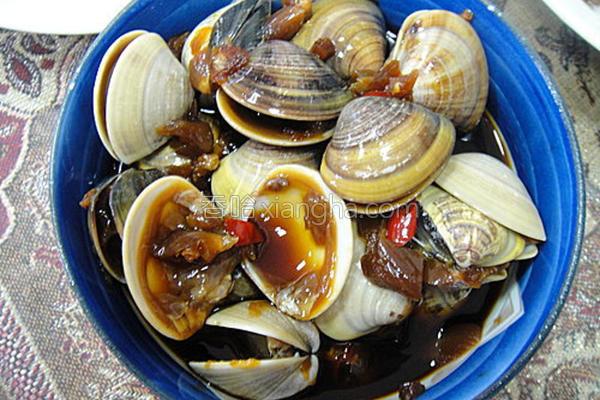 腌蛤蜊的做法