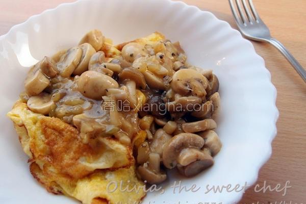 奶油蘑菇酱的做法