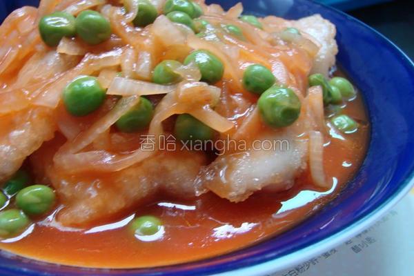 茄汁多力鱼片的做法