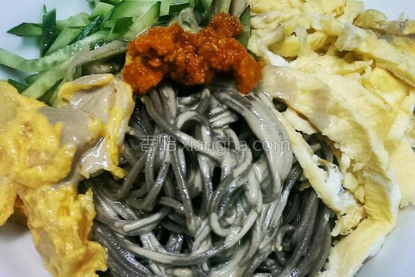 日式荞麦凉面的做法
