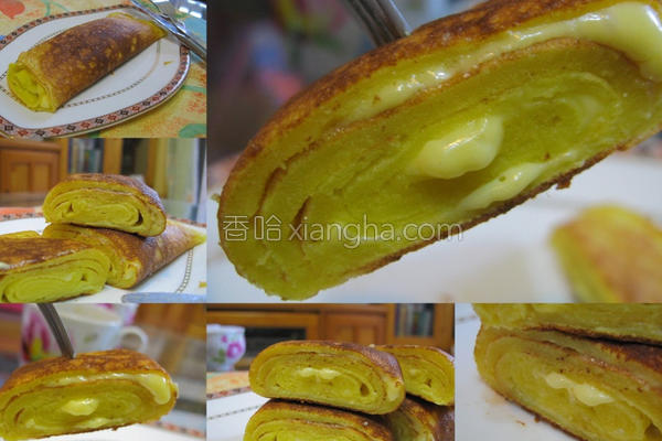 松饼厚蛋烧的做法