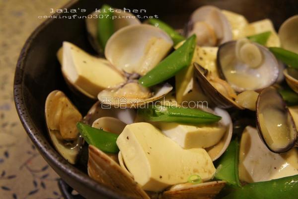 白酒蒸蛤蛎豆腐的做法