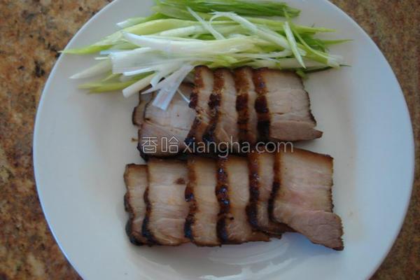 客家咸猪肉的做法