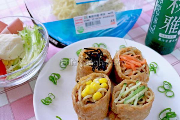 芝香稻荷面寿司的做法