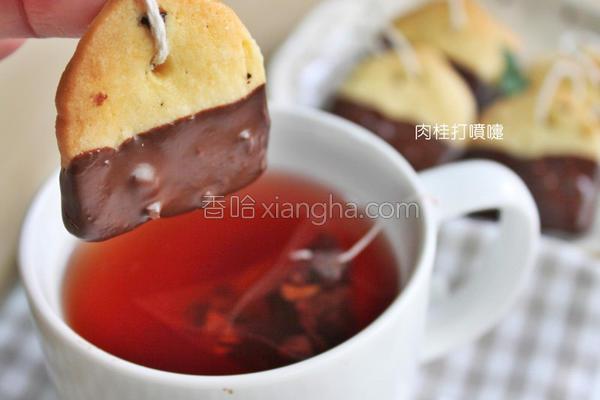 茶包造型手工饼干的做法