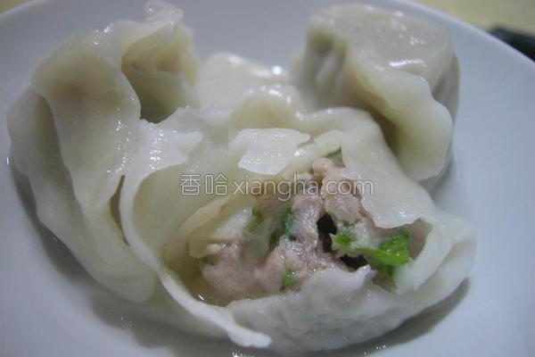 蔬菜猪肉饺的做法