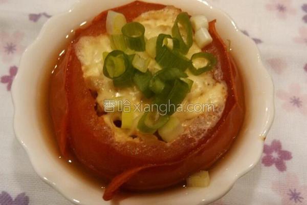 番茄起司蒸绞肉的做法