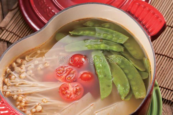 南瓜瘦身魔芋锅的做法