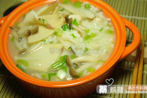 鲜鲍鱼粥的做法