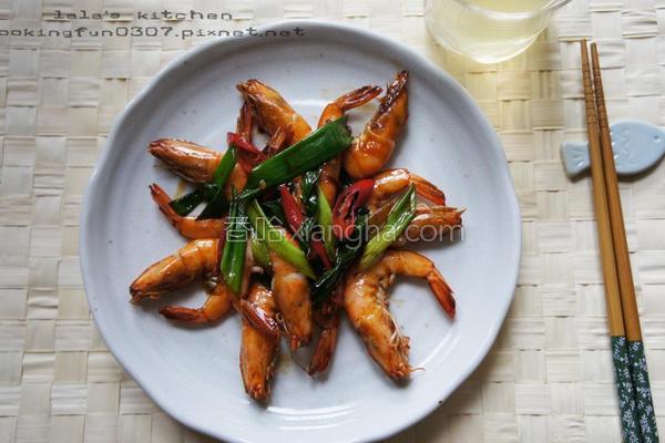 红烧虾的做法