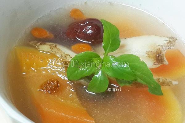 药炖木瓜汤的做法