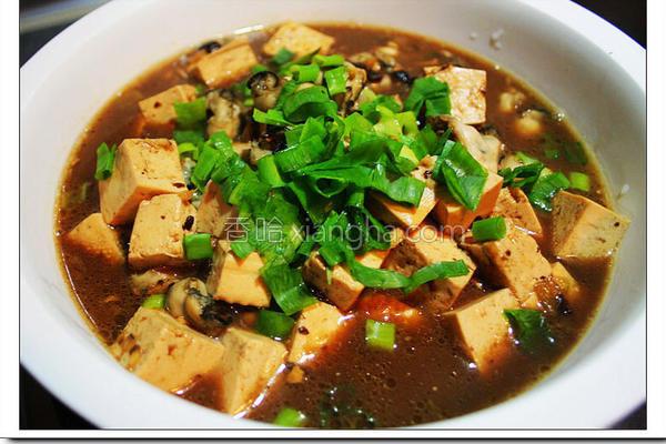鲜蚵豆腐的做法