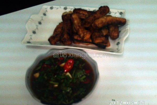 椒麻墨鱼饺的做法