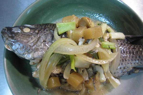 荫凤梨鱼的做法